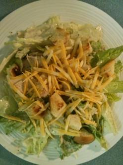 Easy and Quick Chicken Caesar Salad