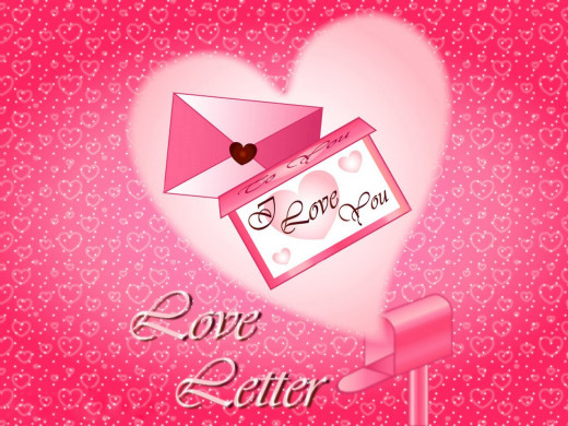 love letter, an easy way to express love