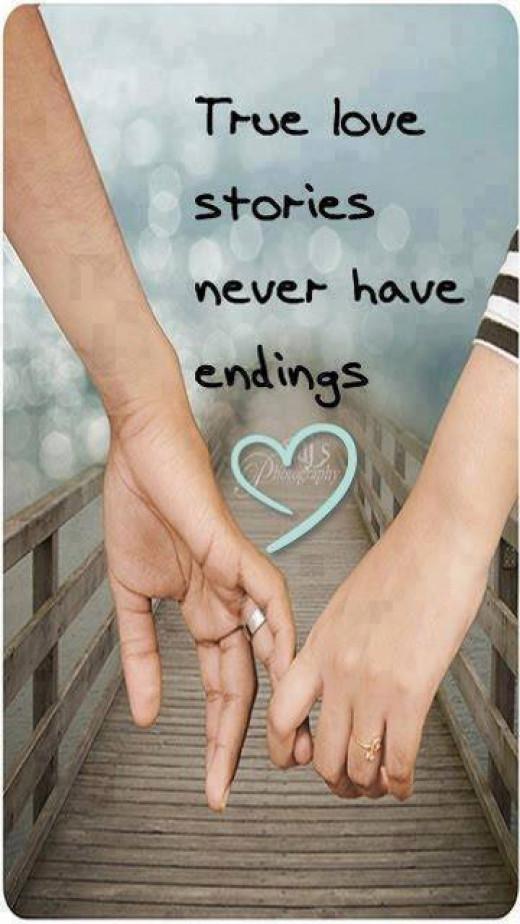 True love never have endings