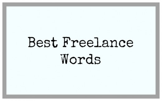 My Favorite Freelance Terms