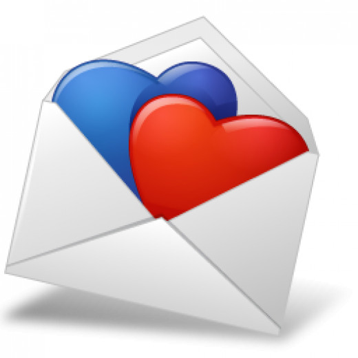 expressing love through email