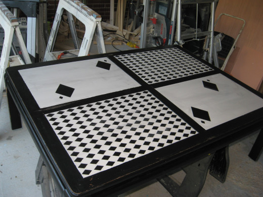 harlequin table