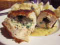 Crispy Chicken Stuffed With Garlic-Herb Butter Recipe (Chicken Kiev)