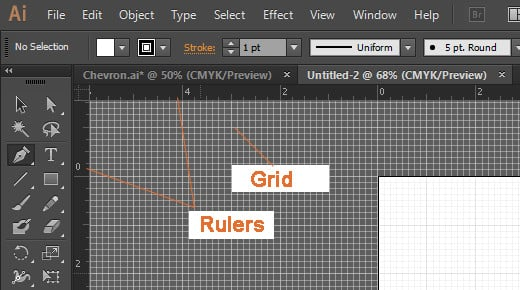 Rulers and Grid
