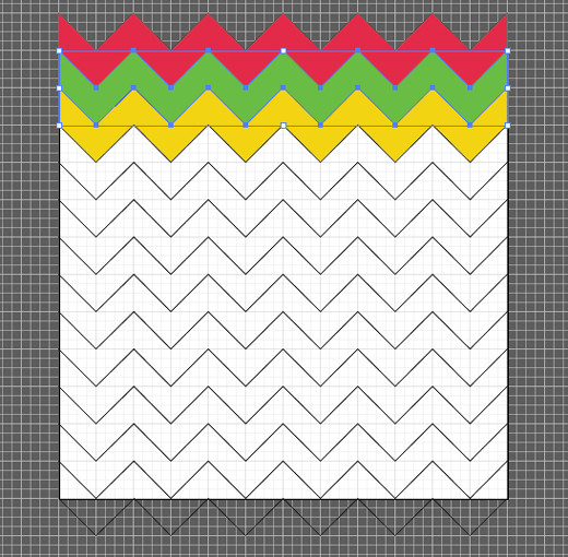 Top 3 Chevron Patterns With Color