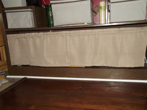 ... Cover Storage Shelves : Easy Storage Solutions For Open Shelves  Hubpages ...