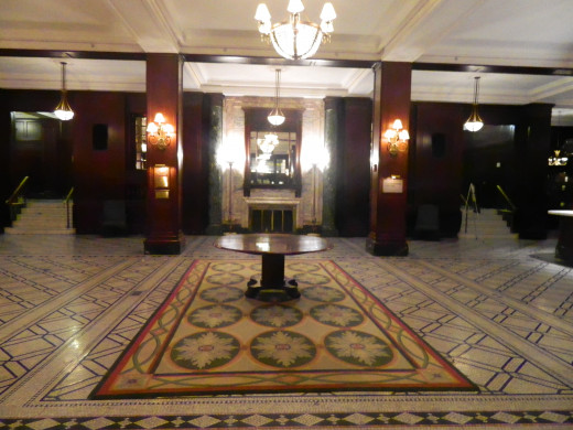 Lobby area of the Muehlebach