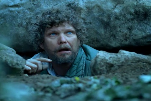 The guy under the rock in the Geico commercials.