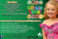 Honey Boo Boo's girl scout cookie ad