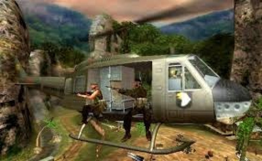 Conflict: Vietnam is the third in the Conflict war game series. It features intense action scenes and awesome sound effects.