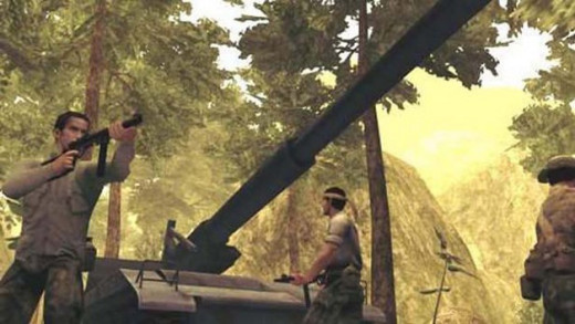 Shellshock is an intense third person Vietnam war shooter game.  The game is based on events from the conflict between the U.S. and the North Vietcong.