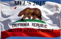 California 2015 Voter Apathy Guide