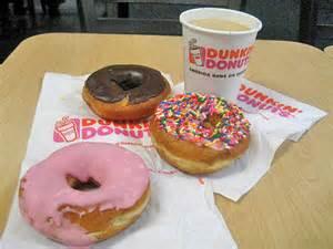 Dunkin Donut Selection
