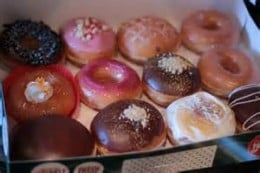 Krispy Kreme Selection