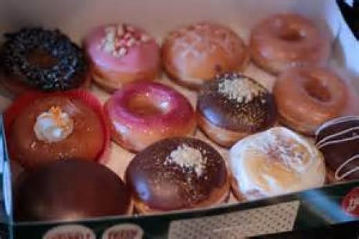 Krispy Kreme Selection
