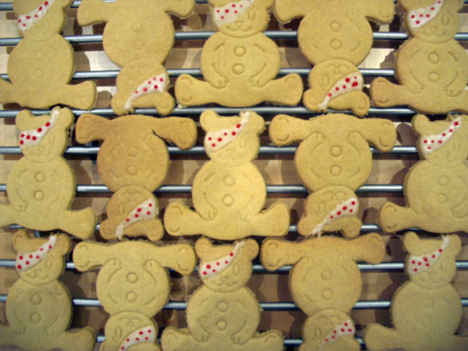 Pudsey Shortbread for Children in Need.