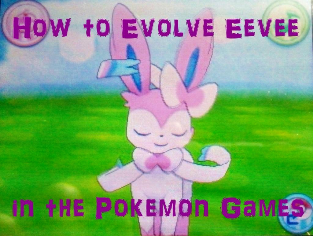 Evolve Eevee Pokemon Gold Game