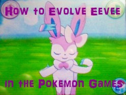 How to Evolve Eevee in the Pokemon Games
