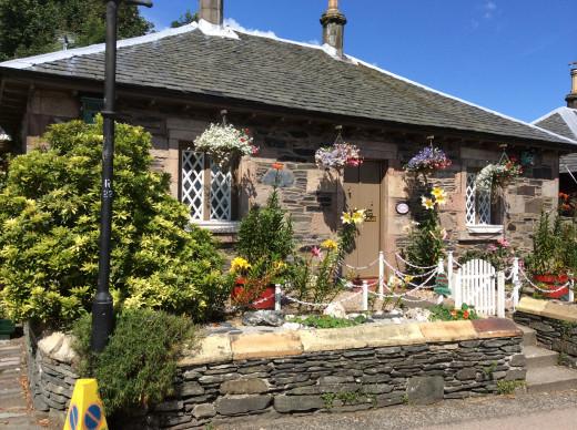 A quaint house in Luss