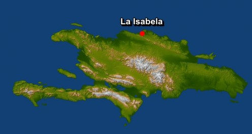 La Isabela first village in the New World