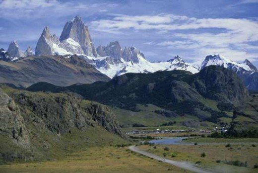 Andes Mountain Region