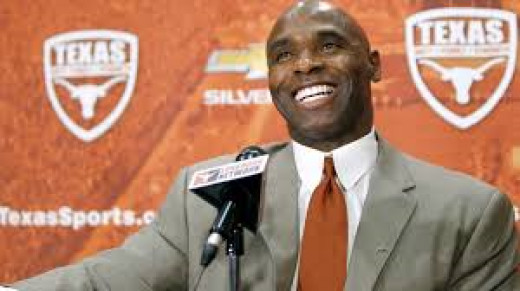 Charlie Strong, head coach of the Texas Longhorns