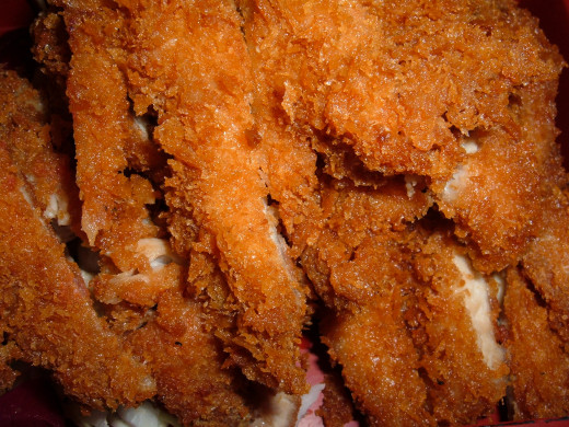 Close-up shot. Sorry it's not my own photo. I was unable to get a clear shot with my camera, but wanted you all to see how delicious your chicken will look.