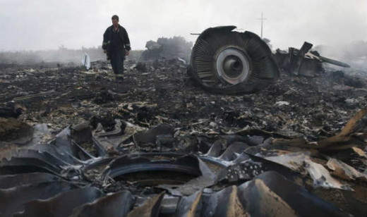 This is what a real airliner crash looks like.