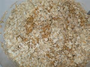 Add oatmeal to dry ingredients