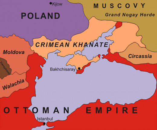 Before it was Russian, Crimean peninsula was a Turco-Mongol vassal state under the Ottoman Empire for three hundred years.