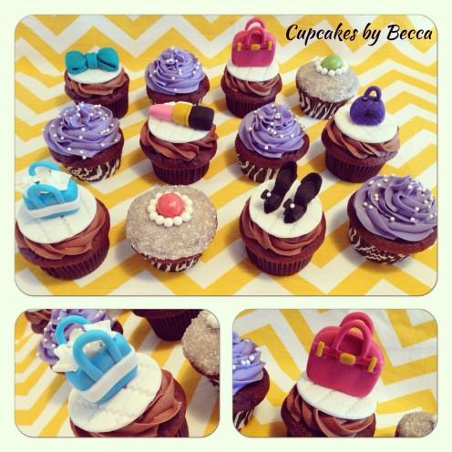 Fashion and Glamor Cupcakes!