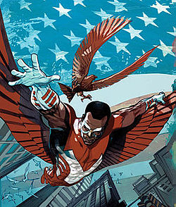 The Falcon Created by Stan Lee & Gene Colan