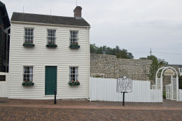 Mark Twain's home, Hannibal, Missouri.