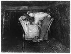 I admire people who work underground