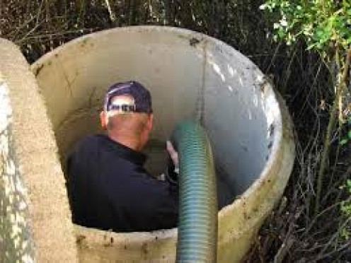 Septic tank  cleaning is one of the lowest jobs  in the world