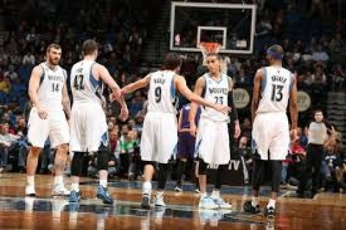 The Minnesota Timberwolves are an NBA basketball team. They have improved lots since their early days as an expansion team.