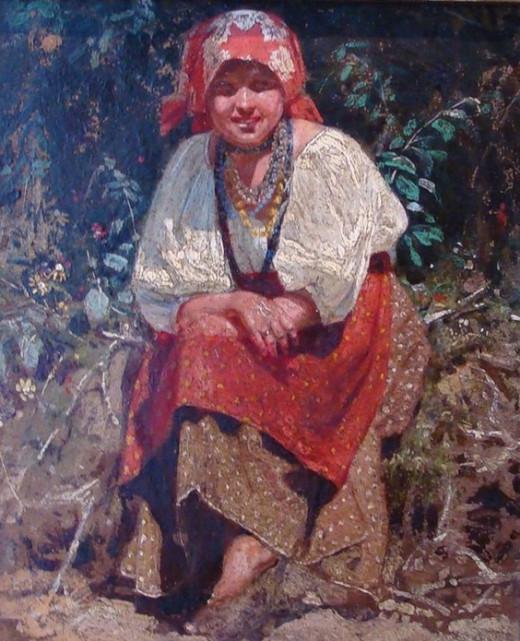 Belarusian girl
