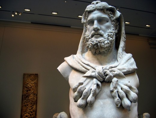 Zeus divided Olympus between his two brothers Poseidon and Hades, when he overthrew his father Cronus.