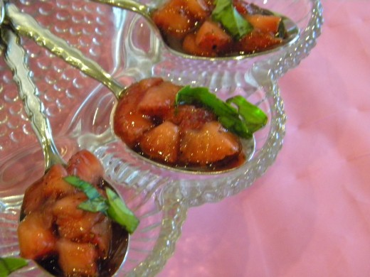 Serve simple foods in unique ways.(c) marye audet