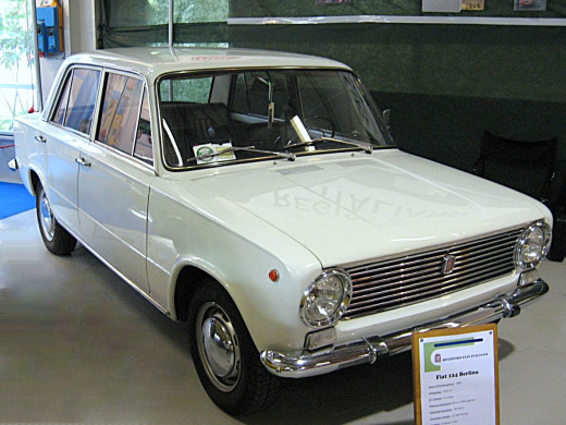 The Fiat 124. The Lada was based on this Italian car.