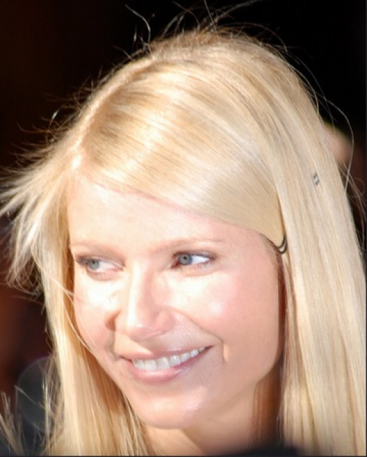 Gwyneth Paltrow possess an innocent look! Her light blond hair and blue eyes are stunning.