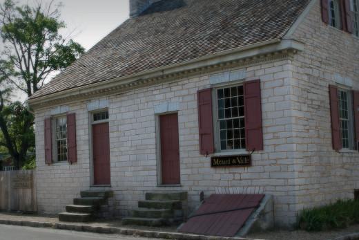 Felix Valle State Historic Site, Ste. Genevieve, Missouri.