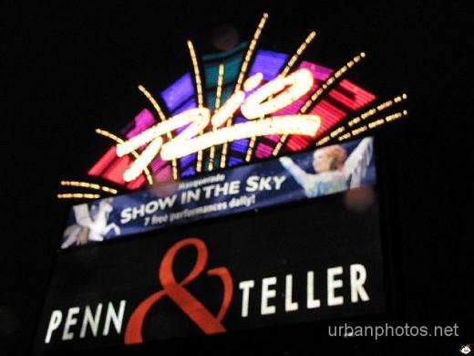Rio Suites Las Vegas marquee, December 2008