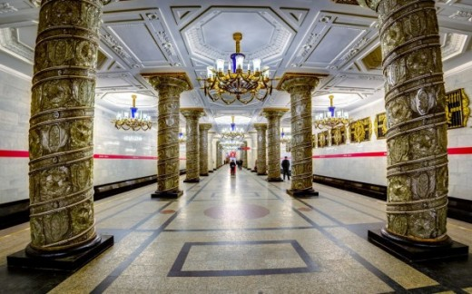 St. Petersburg's Metro