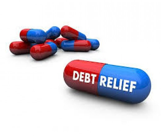 Unfortunately there is no pill that you can take for debt relief