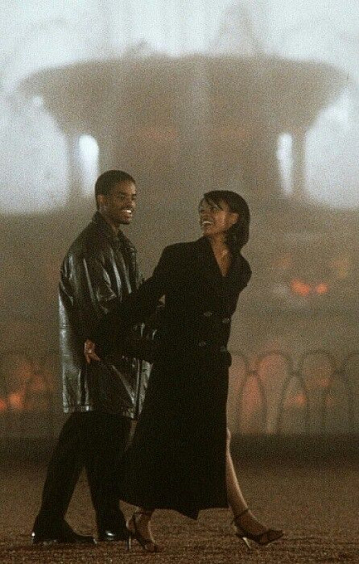 "A scene from the movie, ""Love Jones"""