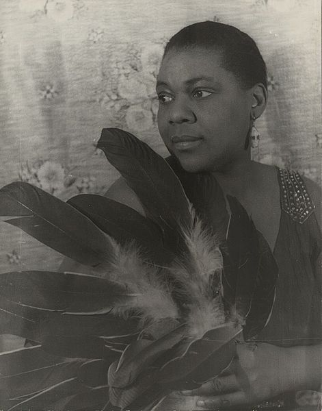 """Bessie Smith, blues singer.  Once, when performing a tent show in a Southern town, Her tent was surrounded by KKK.  Smith stormed out and confronted them, shouting, """"You had better pick up them sheets and run!"""""""