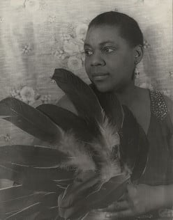 "Bessie Smith, blues singer.  Once, when performing a tent show in a Southern town, Her tent was surrounded by KKK.  Smith stormed out and confronted them, shouting, ""You had better pick up them sheets and run!"""