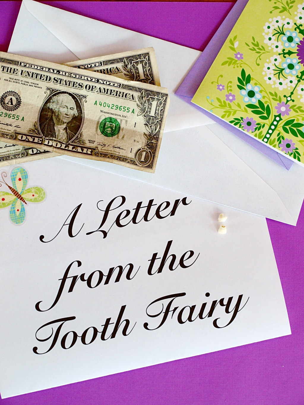 Tooth fairy letters for your child for Fairy letters to child