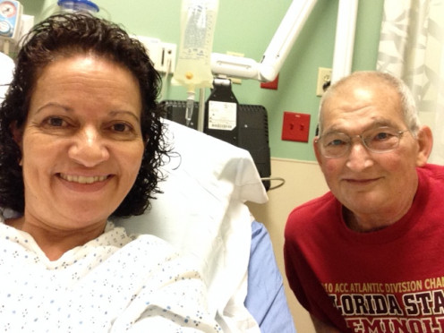Doesn't every one take selfies while waiting for their colonoscopy?